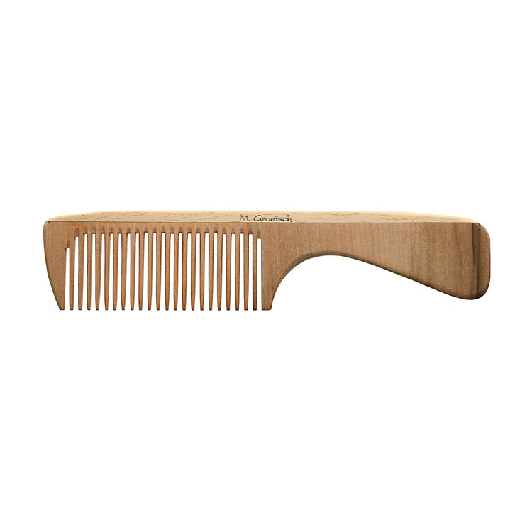 Wooden Comb with Handle
