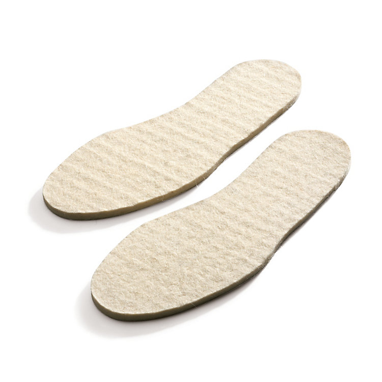 Wool Felt Insoles Nature