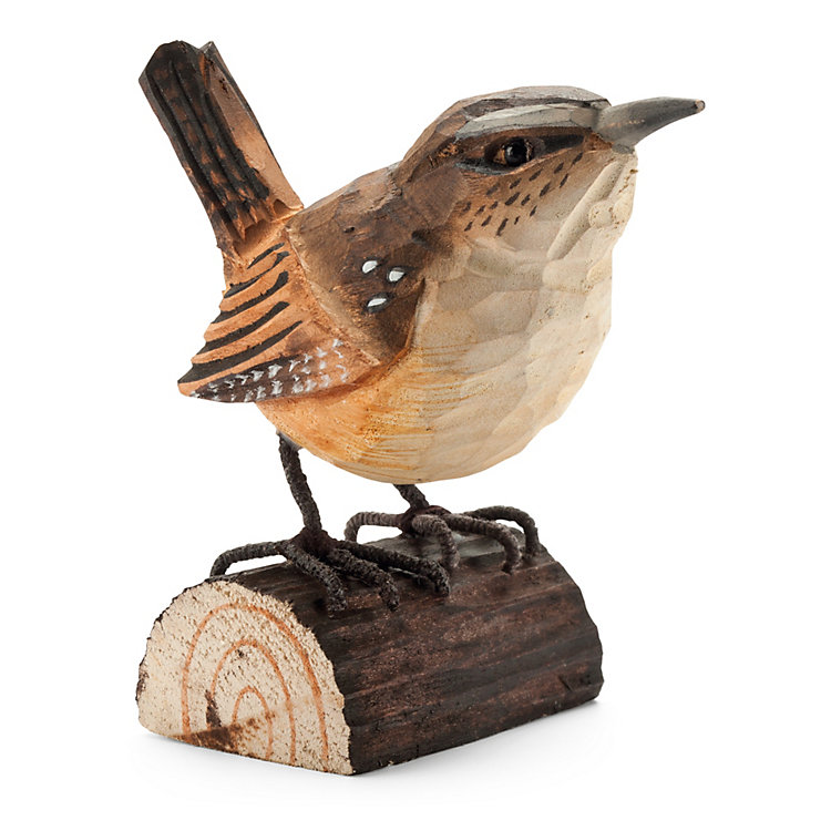 Wren Made of Lime Wood
