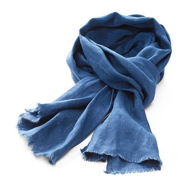 Wunderwerk Men's Scarf Dark Blue