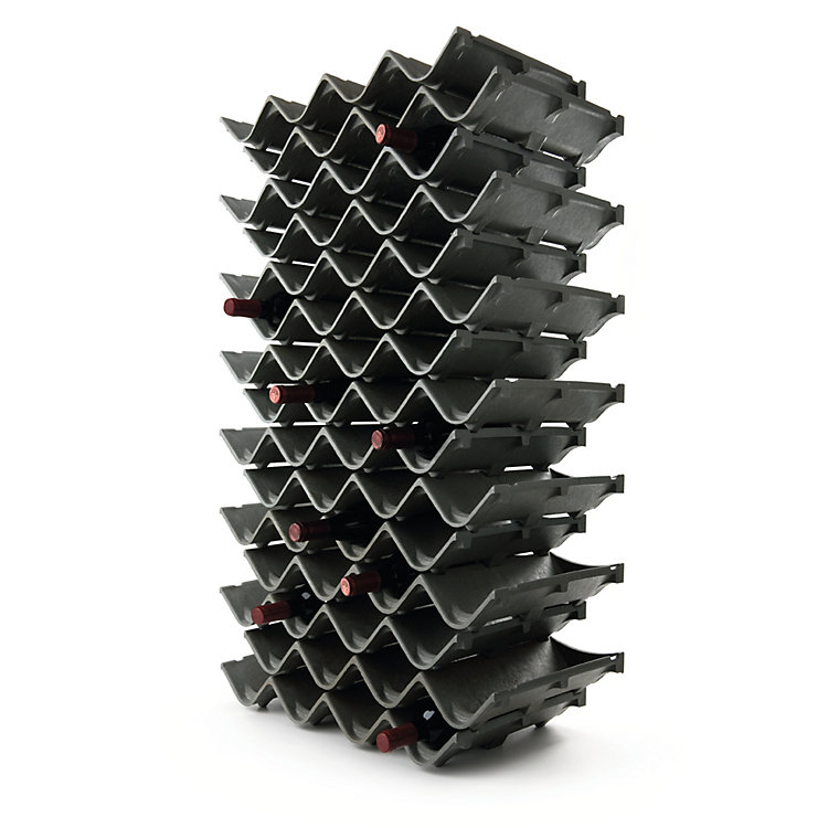 Zigzag Wine and Bottle Rack