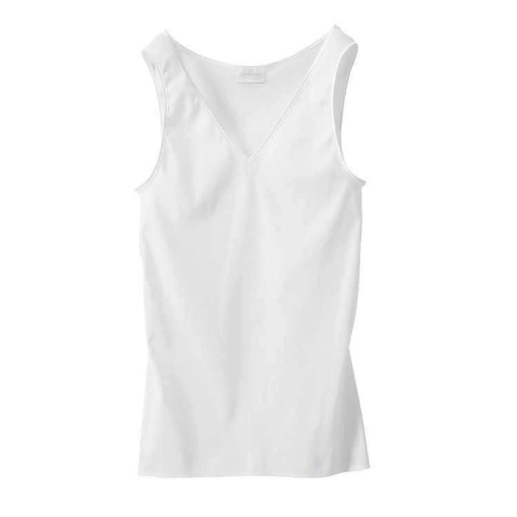 Zimmerli Seamless Ladies Vest, White