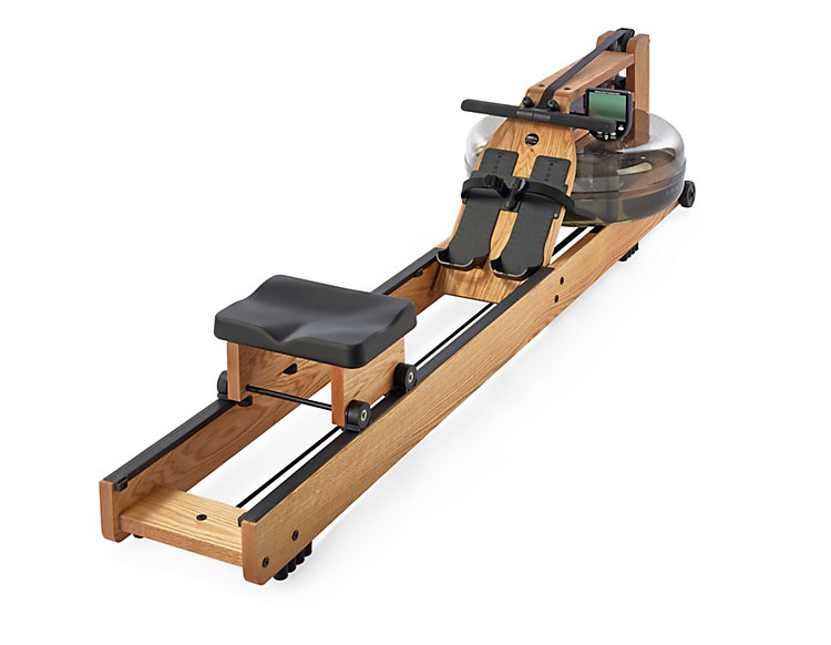 WaterRower Rudergerät Holz mit Monitor
