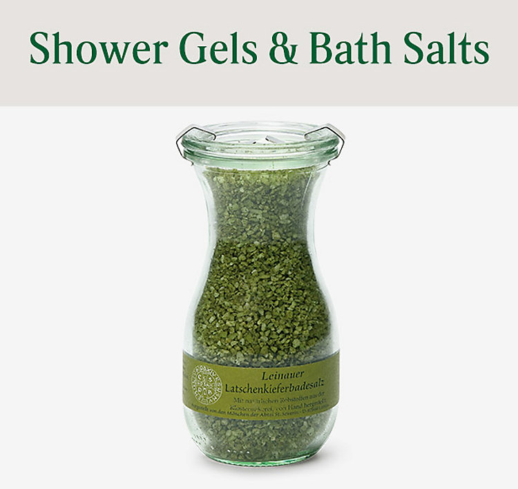 Shower Gels & Bath Salts