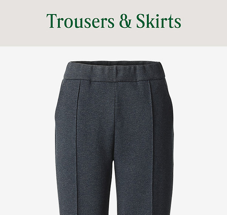 Womens Trousers & Skirts