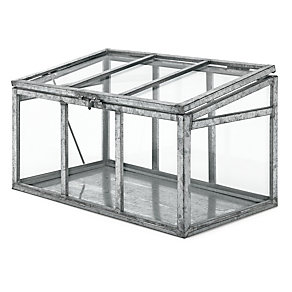 glass steel indoor greenhouse manufactum online shop. Black Bedroom Furniture Sets. Home Design Ideas