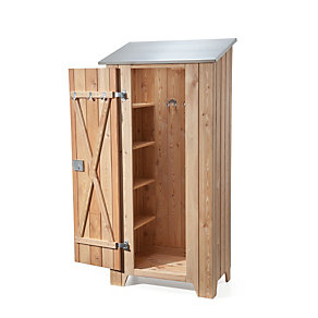 manufactum gartenschrank l rchenholz manufactum. Black Bedroom Furniture Sets. Home Design Ideas